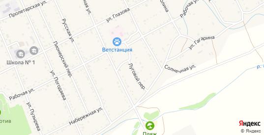Луговой переулок в Шилке с номерами домов на карте. Спутник и схема онлайн