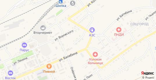 Заводская улица в Шилке с номерами домов на карте. Спутник и схема онлайн
