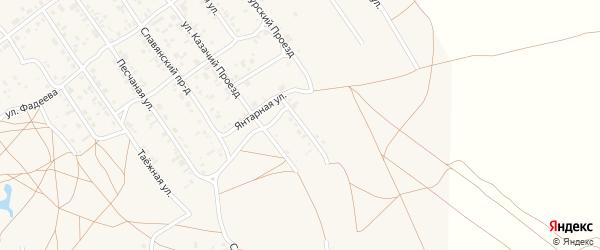Сибирский переулок на карте Борзи с номерами домов