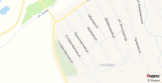 Транспортная улица в Балее с номерами домов на карте. Спутник и схема онлайн
