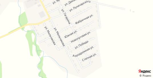 Ново-Луговая улица в Балее с номерами домов на карте. Спутник и схема онлайн
