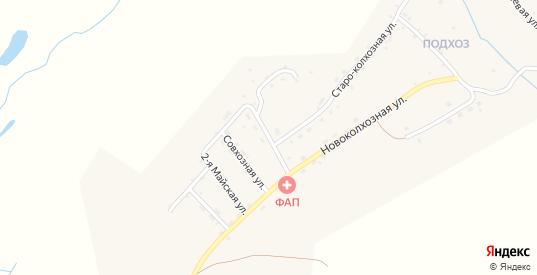 Стахановская улица в микрорайоне Подхоз в Балее с номерами домов на карте. Спутник и схема онлайн