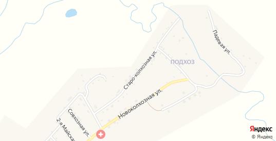 Староколхозная улица в микрорайоне Подхоз в Балее с номерами домов на карте. Спутник и схема онлайн