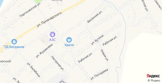 Улица Матакан в Сретенске с номерами домов на карте. Спутник и схема онлайн