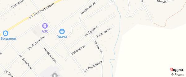 Новая улица на карте Сретенска с номерами домов