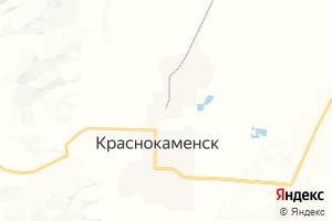 Карта г. Краснокаменск Забайкальский край
