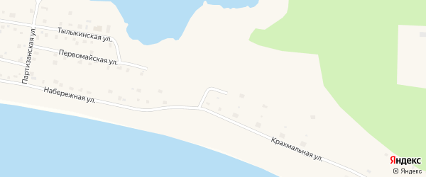 Березовая улица на карте села Антоновки Якутии с номерами домов
