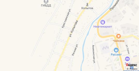 Улица им Копытова в Могоче с номерами домов на карте. Спутник и схема онлайн