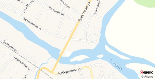 Безымянная улица в Могоче с номерами домов на карте. Спутник и схема онлайн
