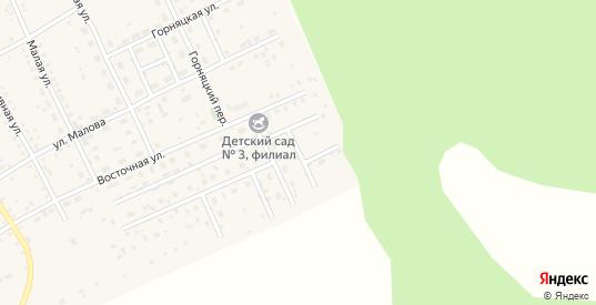 Восточный переулок в Могоче с номерами домов на карте. Спутник и схема онлайн