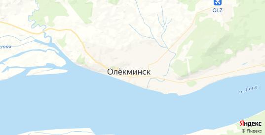 Карта Олекминска с улицами и домами подробная. Показать со спутника номера домов онлайн