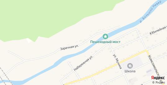 Заречная улица в Сковородино с номерами домов на карте. Спутник и схема онлайн
