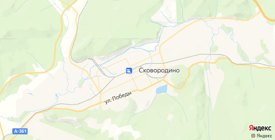 Карта Сковородино с улицами и домами подробная. Показать со спутника номера домов онлайн
