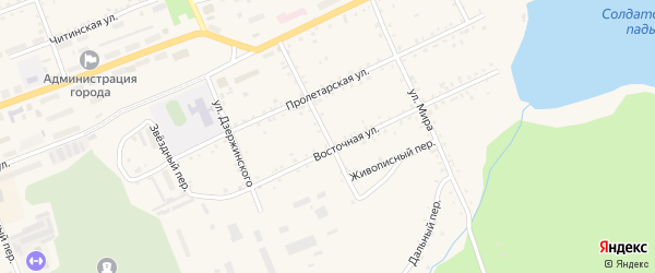 Малая улица на карте Сковородино с номерами домов