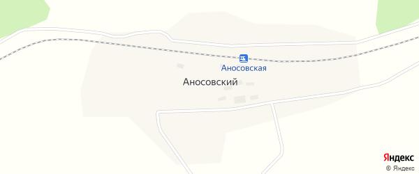 Улица Мира на карте Аносовского поселка с номерами домов