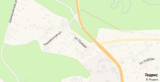 Улица Правды в Тынде с номерами домов на карте. Спутник и схема онлайн