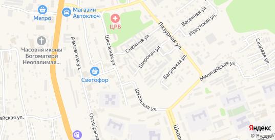 Загородная улица в Тынде с номерами домов на карте. Спутник и схема онлайн