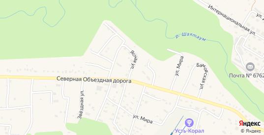 Ясная улица в Тынде с номерами домов на карте. Спутник и схема онлайн