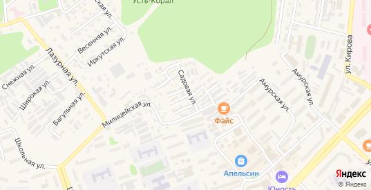 Донецкая улица в Тынде с номерами домов на карте. Спутник и схема онлайн