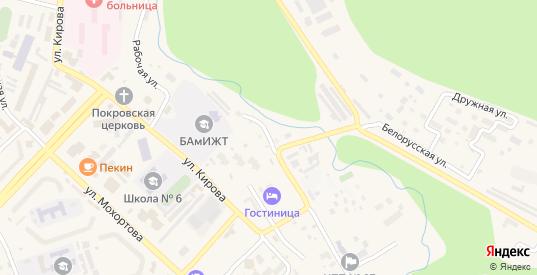 Сибирский проезд в Тынде с номерами домов на карте. Спутник и схема онлайн