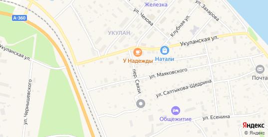 Переулок Связи в Томмоте с номерами домов на карте. Спутник и схема онлайн