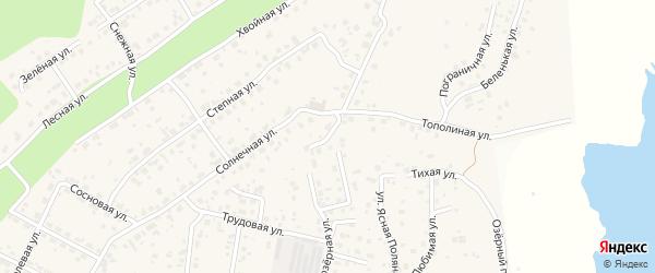 Соловьиный переулок на карте села Чигири с номерами домов