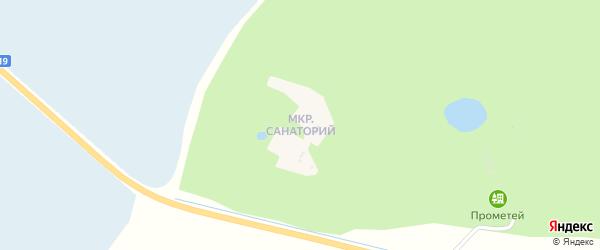 Санаторий микрорайон на карте села Тамбовки с номерами домов