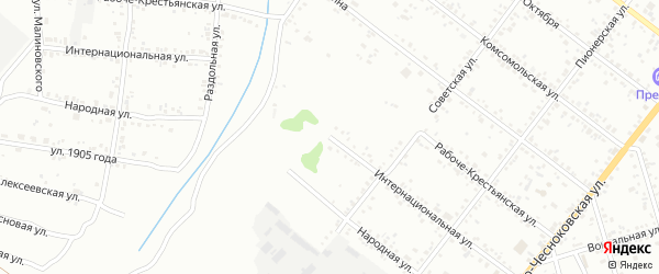 Интернациональная улица на карте Свободного с номерами домов