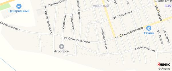 Улица Глинки на карте Свободного с номерами домов
