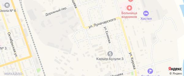 Новый переулок на карте Свободного с номерами домов