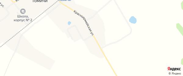 Карта села Томичи в Амурской области с улицами и номерами домов