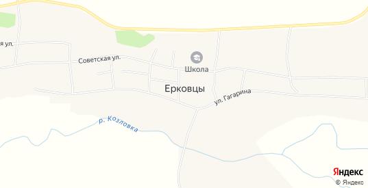 Карта села Ерковцы в Амурской области