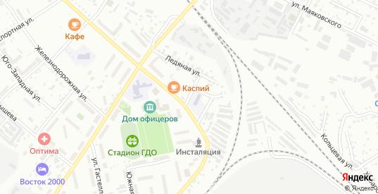 1-й Ледяной переулок в Белогорске с номерами домов на карте. Спутник и схема онлайн