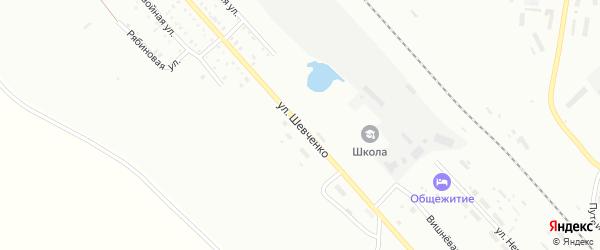 Улица Шевченко на карте Белогорска с номерами домов