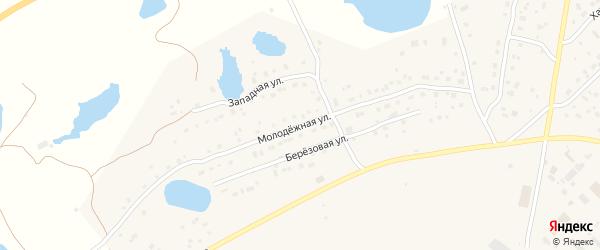 Молодежная улица на карте Покровска с номерами домов