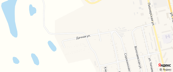 Дачная улица на карте Райчихинска с номерами домов