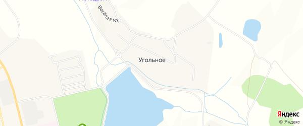 Карта Угольного села города Райчихинска в Амурской области с улицами и номерами домов