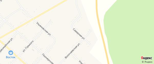 Северная улица на карте Завитинска с номерами домов