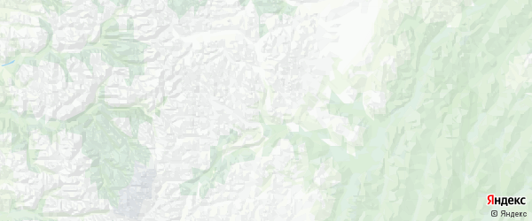 Карта Эвено-бытантайского Национального улуса Республики Якутии с городами и населенными пунктами
