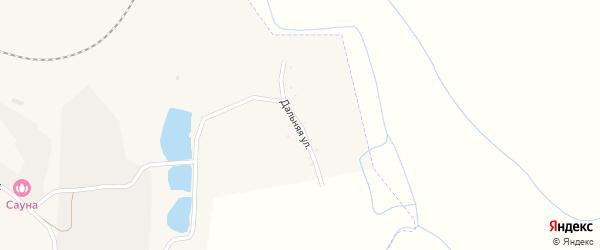 Дальняя улица на карте поселка Прогресса с номерами домов
