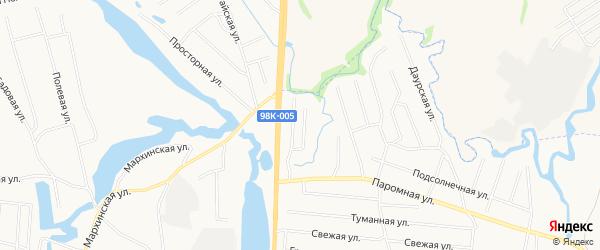 Территория ТСН Уруйэчээн на карте Якутска с номерами домов