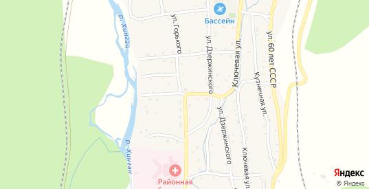 Краснофлотская улица в Облучье с номерами домов на карте. Спутник и схема онлайн