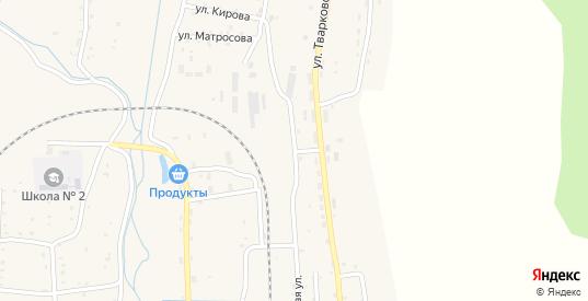 Хинганская улица в Облучье с номерами домов на карте. Спутник и схема онлайн