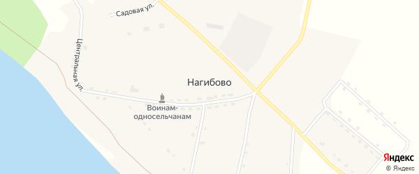 Набережная улица на карте села Нагибово Еврейской автономной области с номерами домов
