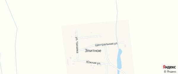 Улица Дубровина на карте Элитного села с номерами домов