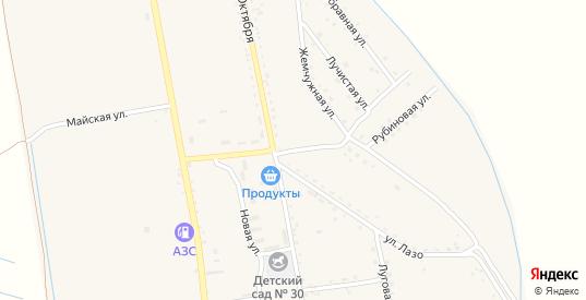 Строительная улица в селе Борисовка в Уссурийске с номерами домов на карте. Спутник и схема онлайн