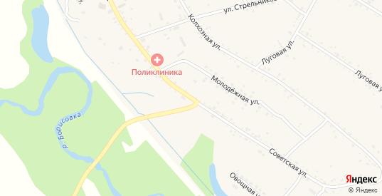 Советская улица в селе Борисовка в Уссурийске с номерами домов на карте. Спутник и схема онлайн