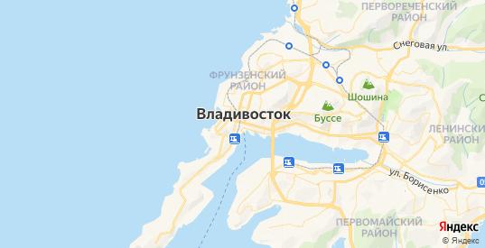 Карта Владивостока с улицами и домами подробная - показать