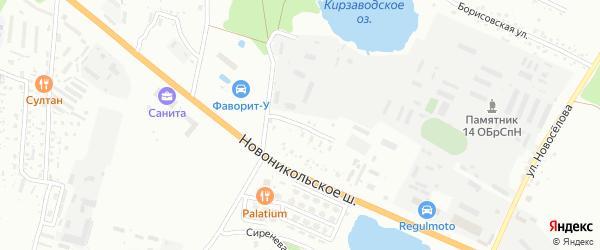 Волховская улица на карте Уссурийска с номерами домов