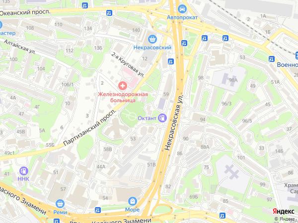 индекс партизанский проспект 24 владивосток